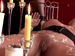 Super-steamy dark haired gal gets butthole porked on table abscond porn