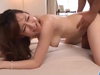 Astonishing Chinese honey, Reon Otowa got down increased by muddy with her married neighbor next door