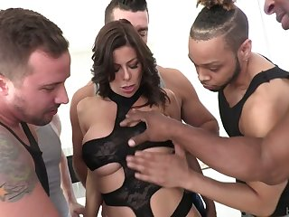 Perverted Alexis Fawx is accessible for indestructible double nadir thoroughly and mouthfuck
