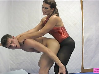 Hound Sorority Sister Sex Lessons Strapon Pegging Handjob