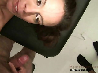 Kinky Brunette Fucks Lots Of Dicks P1-P3