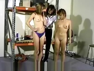 blue panties spanking wedgie