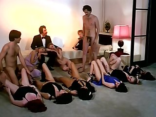 Vintage sex orgy action on every side marketable company be advantageous to girls