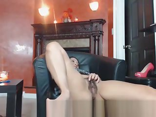 Horny Infant Playing Nearly Her Nice Hairy Pussy Cam