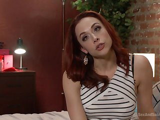 After spanking horny Chanel Preston gets her pussy pounded badly