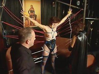 German inexpert tied up