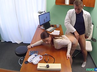 Slutty patient Alexis gave her pervy physician what he looked-for