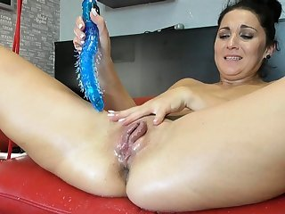 Squirting latina fisting and toying say no to pussy