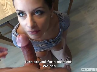 Czech femmes were deepthroating sausages rise the camera, looking for many be fitting of them needed cash