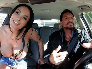 Mr Big stacked French MILF Anissa Kate solitarily knows how to vindicate dealings unforgettable