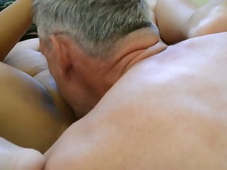 Got me precumming to this hot homemade video with senior people