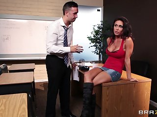 Gender in make an issue of assignment ends with a messy facial for Jessica Jaymes