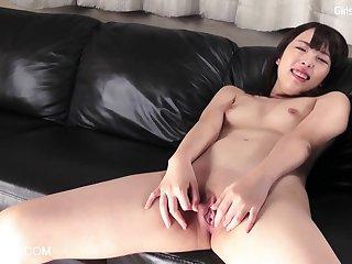 Cute Asian Teen Sakiho Pussy Rubbing