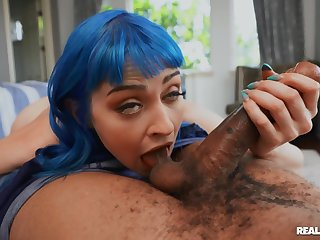 Sexy ass babe goes full mode with this endless BBC