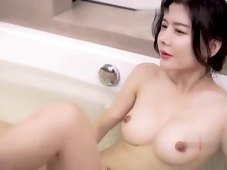 Model - Really Hot Asian Fat chest Floozy Unending Fucked off out of one's mind Old Man! - Fat chest