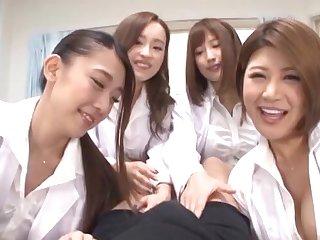 POV video with Japanese nurse Hamasaki Mao having fix it sex