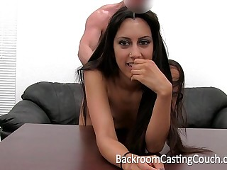 Persian Squirter Anal Fail Creampie Win on Formulation Couch