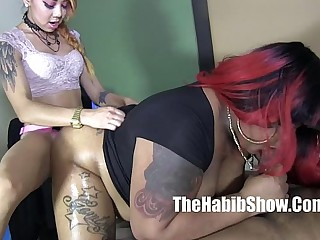 phat loot bbw ms giggles banged off out of one's mind lil asian increased by bbc