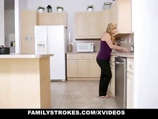 FamilyStrokes - Warm Step-Sister Added to Mom Tricked Added to Romped By StepBro