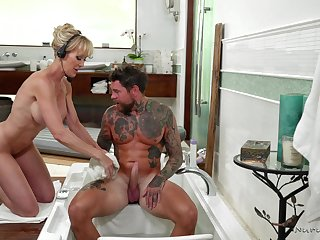 MILF Brandi Love is simply but for the fact that at nuru massages